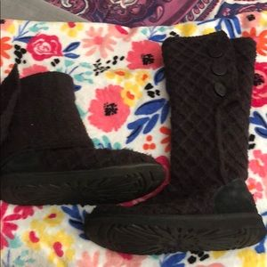 Women's Knit ugg boots size 10